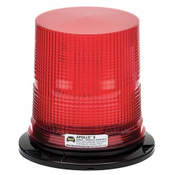 Wolo Manufacturing - 3090PPM-R - LED Warning Light, Red, 12/60VDC
