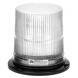 Wolo Manufacturing - 3095PPM-C - LED Warning Light, Clear, 12/60VDC