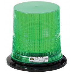 Wolo Manufacturing - 3097PPM-G - LED Warning Light, Green, 12/60VDC