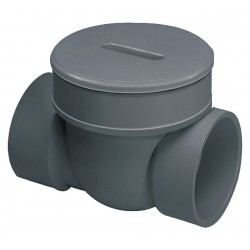 Spears - S675P - 6 PVC Backwater Valve, 43 psi, 120F