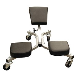 Keysco Tools - 78033 - 28 x 24 Knee Saver Work Seat with 4 Wheels and 300 lb. Load Capacity