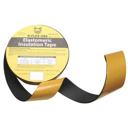 K-Flex - 800-EL-018S - 30 ft. x 2 NBR/PVC Pipe Insulation Tape, -40 to 220F, Black