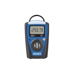 Aerionics - OX-1 - Macurco Single-Gas Monitor Series - 3.6 V DC - 85 dB - Audible, Visual