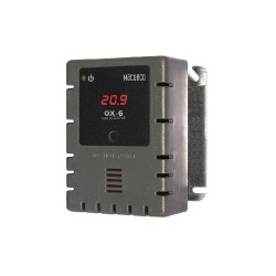 Aerionics - OX-6 - O2 Gas Detector, Controller, Transducer, Number of Channels 2, 12 to 24VAC or 12 to 32VDC, Height 4-