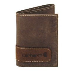 Carhartt - 61-2205-20 - Tri-Fold Wallet, Leather, 3-1/4 in. W