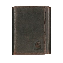 Carhartt - 61-2234-20 - Passcase Wallet, Leather, 4-3/8 in. W