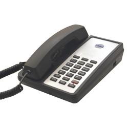Bittel - 123S-B - Hospitality, Phone, Analog, Wall/Desk, Black
