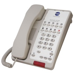 Bittel - 38TSD10S-C - Hospitality, Phone, Analog, Wall/Desk, Cream