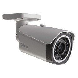 FLIR Systems - N133BB - IP Camera, Bullet, Fixed, 6-13/16 in.L, 1 MP