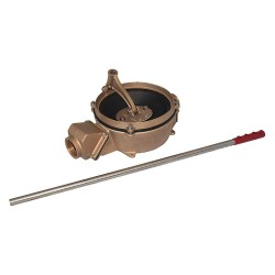 Edson International - 11751 - Manual Hand Pump, Bronze