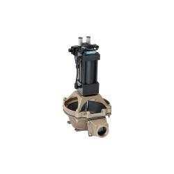Edson International - 22051 - Bronze Nitrile NPT Diaphragm Pump, 20 gpm, 5 psi