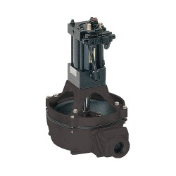 Edson International - 12058 - Aluminum Nitrile NPT Diaphragm Pump, 40 gpm, 5 psi