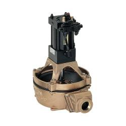 Edson International - 12059 - Bronze Nitrile NPT Diaphragm Pump, 40 gpm, 5 psi