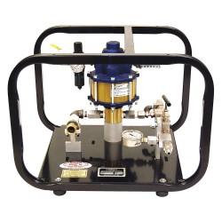 Wherify Wireless - 32450 - Hydrostatic Test Pump, Reciprocating Pump, 1 GPM, 10, 000 psi