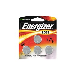 Energizer - 2032BP4 - Energizer 2032 Watch/Electronic Batteries - CR2032 - Lithium (Li) - 4 / Pack