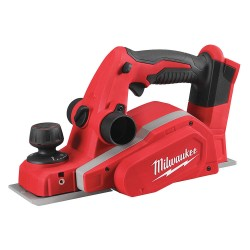 Milwaukee Electric Tool - 2623-20 - Milwaukee 2623-20 M18 18V 3-1/4 Planer with Bevel/Edge Guide - Bare Tool