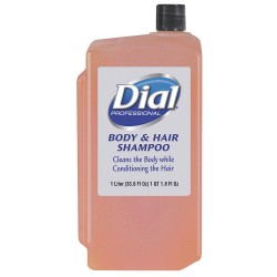 Dial - 04029 - Shampoo and Body Wash, Citrus, Floral, 1000mL Bottle, Package Quantity 8