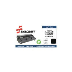 Skilcraft - SKL-08A0478-L - Lexmark Toner Cartridge, No. E320, Black