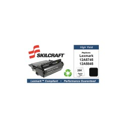 Skilcraft - SKL-12A5845-L - Lexmark Toner Cartridge, No. T610, Black