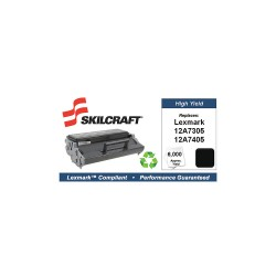 Skilcraft - SKL-12A7305-L - Lexmark Toner Cartridge, No. E321, Black