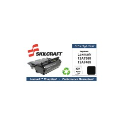 Skilcraft - SKL-12A7465-L - Lexmark Toner Cartridge, No. T632, Black