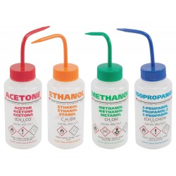 Dynalon - 506495-0005 - Standard Spout; Wash Bottles Assorted Set; Plastic; Vented Wide Mouth