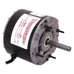 A.O. Smith - 599 - 1/10 to 1/30 HP OEM Replacement Motor, Shaded Pole, 1550 Nameplate RPM, 115 VoltageFrame 42