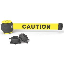 Banner Stakes Wall Mounted Retractable Barriers