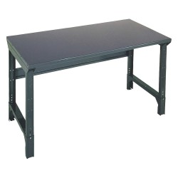 Edsal - 1002S - Bolted Workbench, Steel, 36 Depth, 30-3/4 to 34-3/4 Height, 72 Width, 4000 lb. Load Capacity