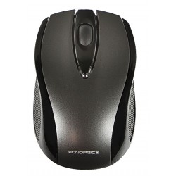 Monoprice - 9256 - Wireless 3-button Optical Mouse - Black