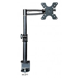 Monoprice - 5401 - Black Monitor Arm, Clamp Mount, 33 lb. Weight Capacity
