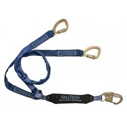 Falltech - G8241Y - Lanyard, 2 Leg, Polyester, Blue