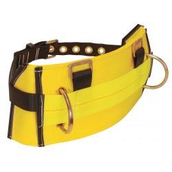 Falltech - G8035L - Body Belt, L, 425 lb., Ylw/Blk