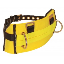 Falltech - G8035XL - Body Belt, XL, 425 lb., Ylw/Blk
