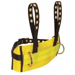 Falltech - G8033S - Body Belt, S, 425 lb., Ylw/Blk