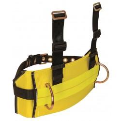Falltech - G8031M - Body Belt, M, 425 lb., Ylw/Blk