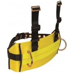 Falltech - G8031L - Body Belt, L, 425 lb., Ylw/Blk