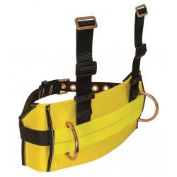 Falltech - G8031XL - Body Belt, XL, 425 lb., Ylw/Blk