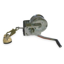 Honeywell - 8441-Z7/88FT - Confined Space Winch, Winch Cable Length 88 ft., Winch Cable Dia. 3/16, 350 lb. Max. Working Load