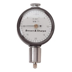 Brown & Sharpe Precision - 14.83006 - Balanced Reading Dial Indicator, AGD 1, 1.688 Dial Size, 0 to 0.250 Range