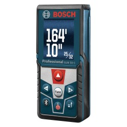 Bosch - GLM50C - Bosch GLM50C 165-Feet Bluetooth Laser Measure Color Display and Inclinometer