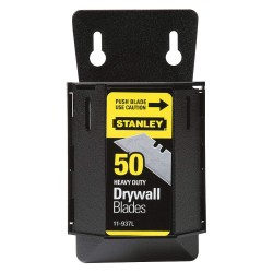 "Stanley / Black & Decker - 11-937L - 2-3/8"" Carbon Steel 2-Point Utility Blade, 50 PK"