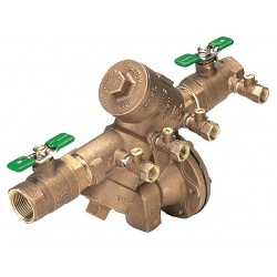 Zurn - 1-975XL2 - Reduced Pressure Zone Backflow Preventer, Low Lead Cast Bronze, Wilkins 975XL2 Series, FNPT Connecti