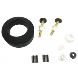 Gerber - 99-537 - Rubber, Brass, Plastic Tank to Bowl Kit