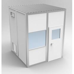 PortaFab - 6CR88 - Clnrm Modular In-Plant Office, 8x8x10ft