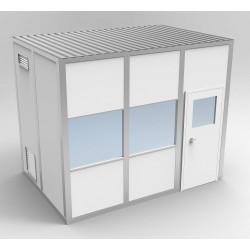 PortaFab - 6CR812 - Clnrm Modular In-Plant Office, 8x12x10ft