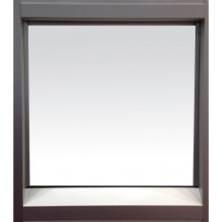PortaFab - FW-BEV - Fixed Window w/Beveled Sill, 36Hx43-1/2W