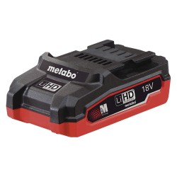 Metabo - LIHD 18V COMPACT 3.1AH - LT/LTX Battery, 18.0 Voltage, Li-Ion