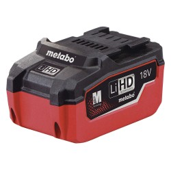 Metabo - LIHD 18V 5.5AH - LT/LTX Battery, 18.0 Voltage, Li-Ion