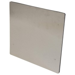 GAI-Tronics - 235-001 - Steel Maintenance Cover, Stainless Steel&#x3b; For Cleanroom Telephones